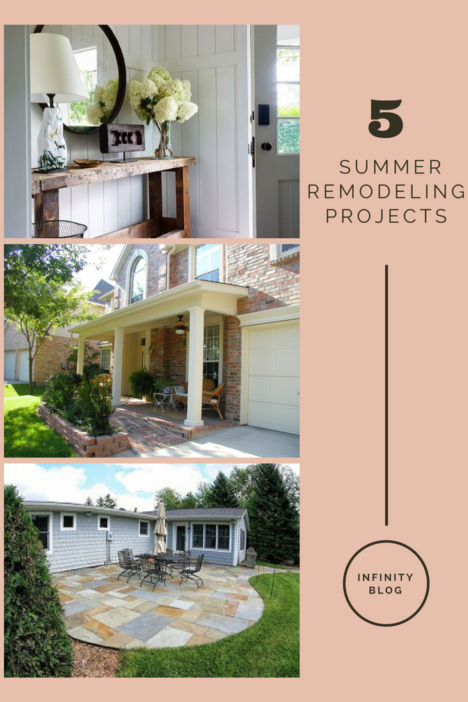 5 Summer Remodeling Projects