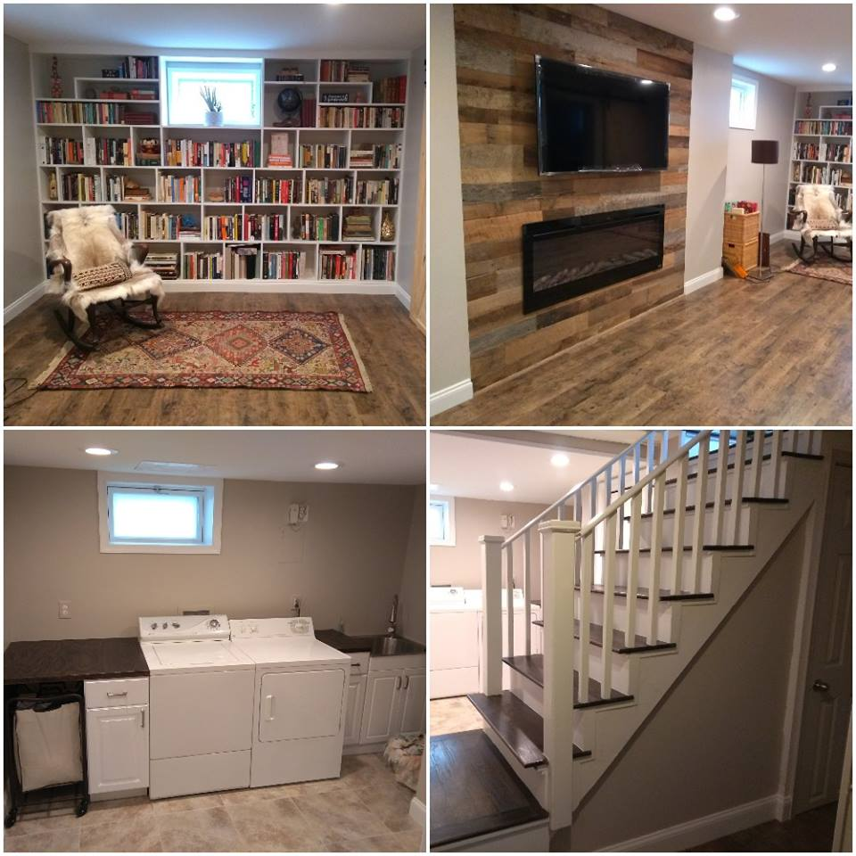 Basement & Laundry Remodel