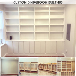 Custom Built-ins and Cabinets