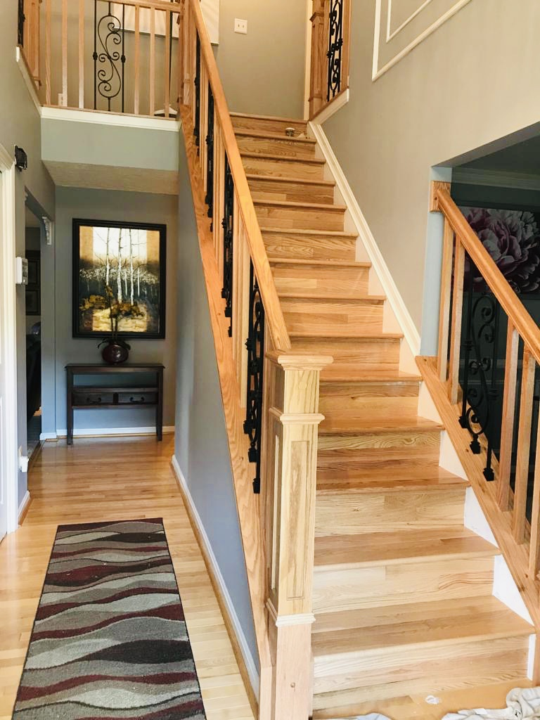 New Stairs & Flooring