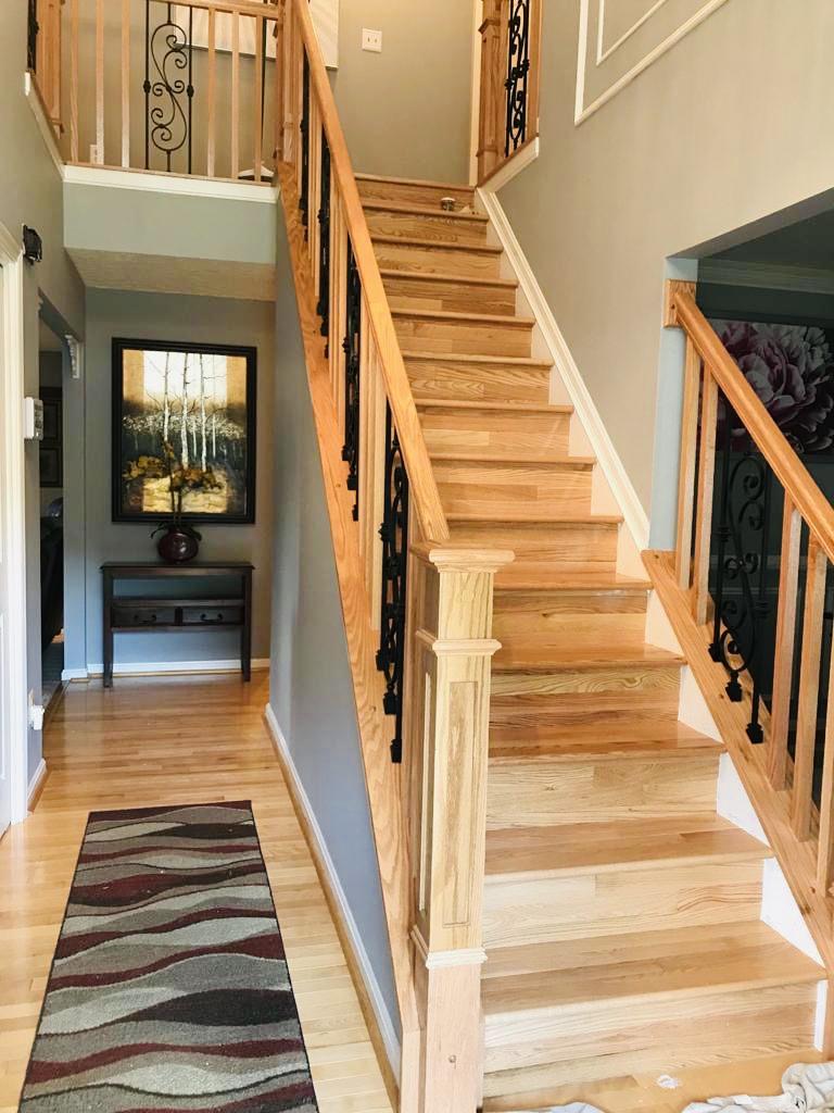 New Stairs & Flooring