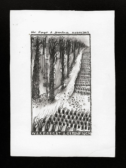 Hipkiss, 'War Forget A...', 2005