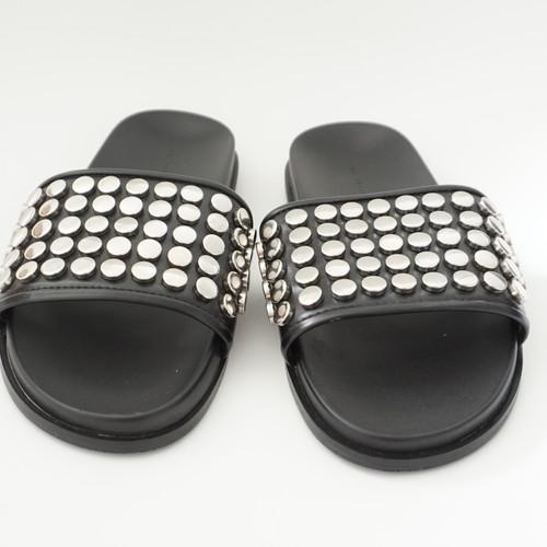 Slipper mit Nieten von Zara   Bloggando   Online Blogger-Flohmarkt ... 9c0c396c42