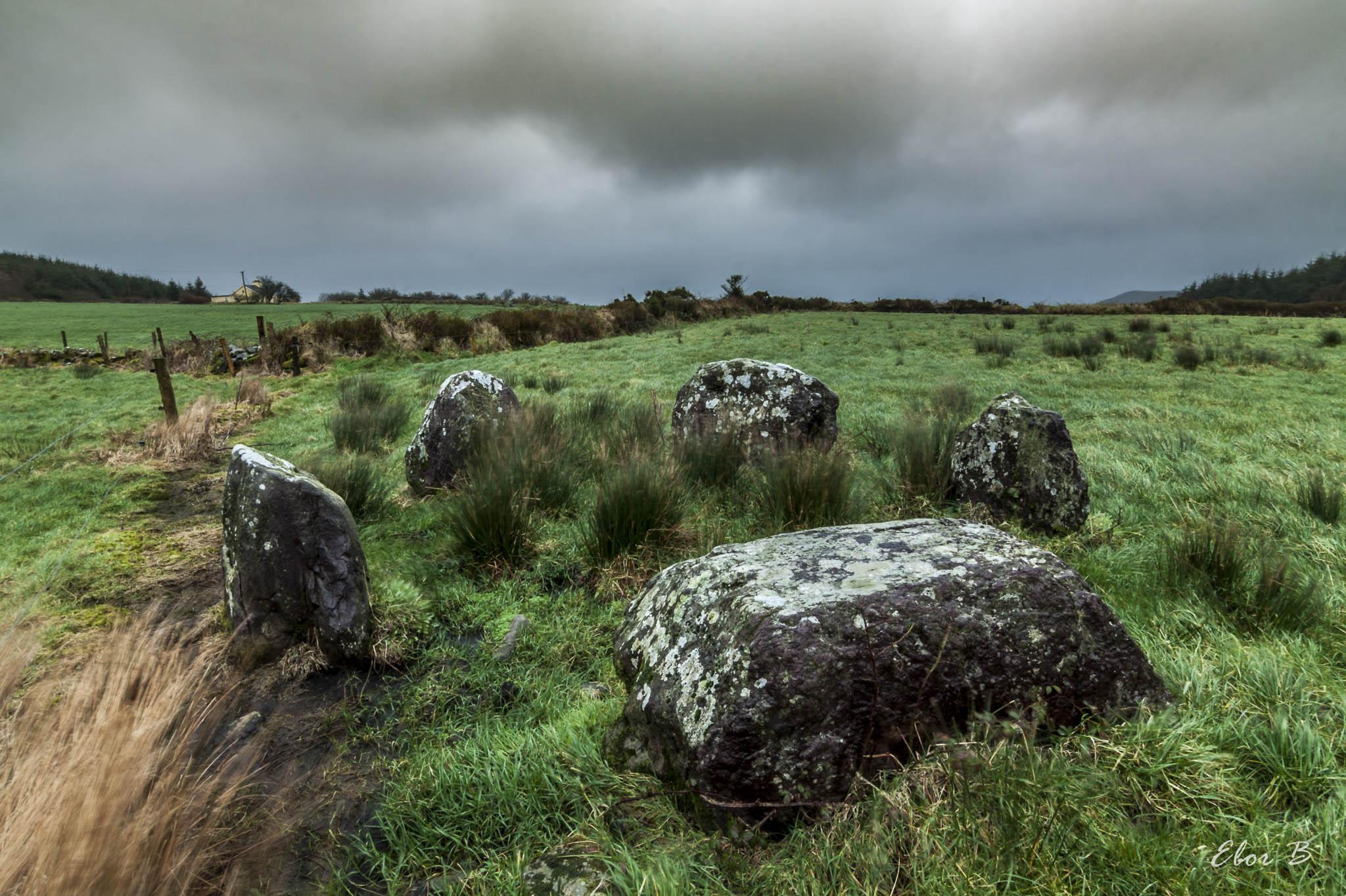 Knockraheen Stone Circle