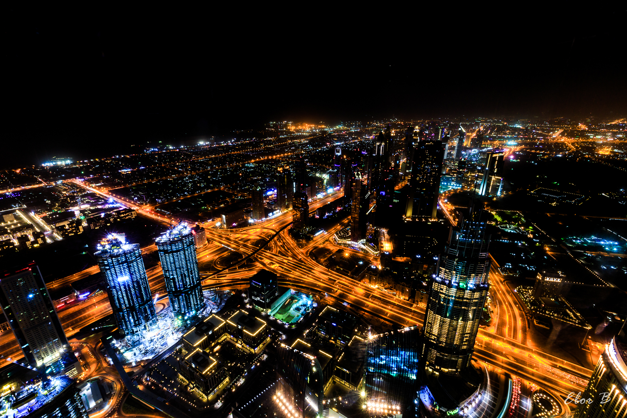 Dubai Light Trails