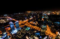 Dubai Light Trails