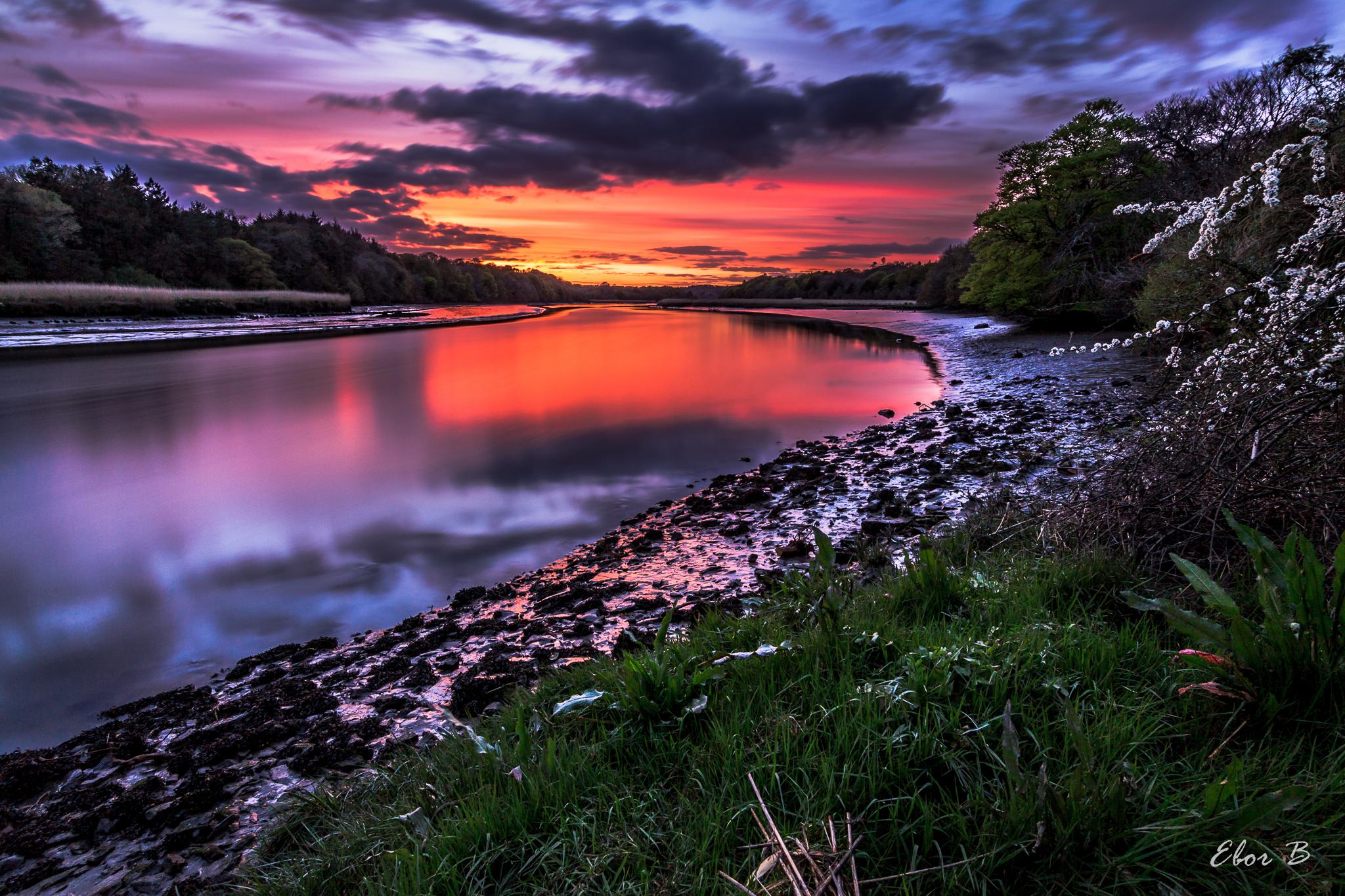 Sunset at Shippool