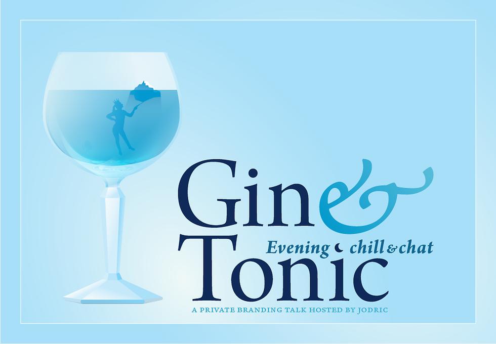 RSVP Gin & Tonic branding talk