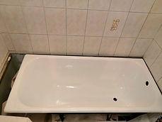 Реставрация ванны до, жидким акрилом, стакрилом, заливка ванны