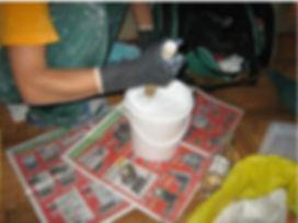 как отреставрировать чугунную ванну, как покрасить ванну, Подготовка поверхности ванны, реставрация ванн,  как отремонтировать ванну