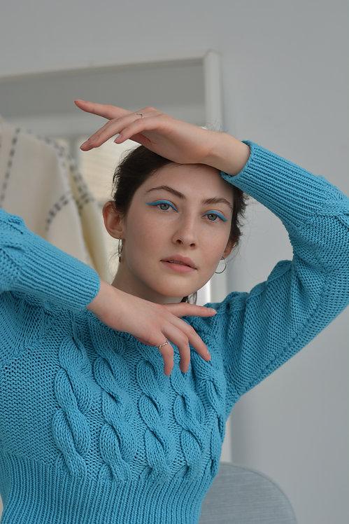Укороченный свитер (11 цветов)