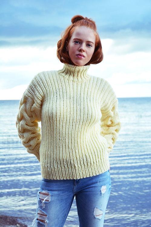 """Пуловер """"Запах ветра"""""""