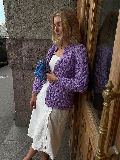 Жакет с «пузырьками»
