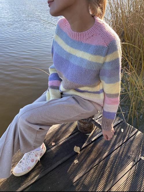 """Полосатый свитер """"Light Side"""""""