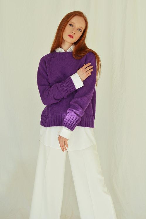 Базовый пуловер из кашемира