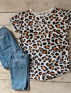 BREASTFEEDING T-SHIRT Leopard Print