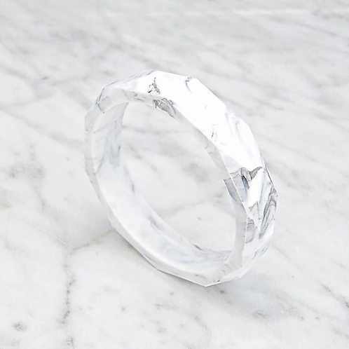 Teething Bangle (Marble)