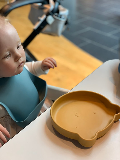 Silicone Suction Bear Weaning Plate