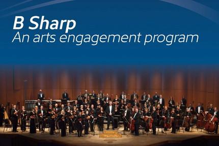 B Sharp: An arts engagement program