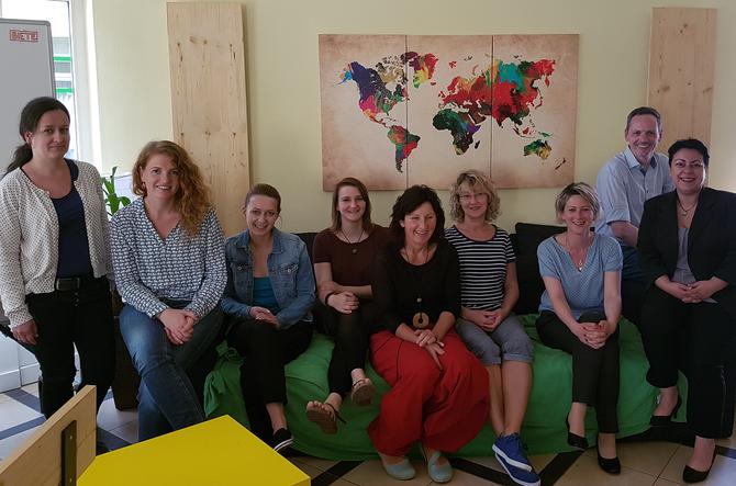 Regionales ThINKA-Treffen im Café International