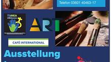 """Ausstellungseröffnung """"Alles ist bunt"""" im Café International"""