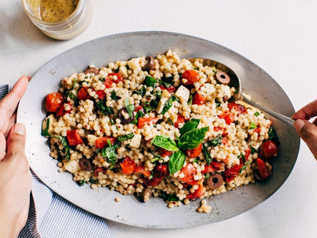Couscous with Roasted Vegetables and Herbs