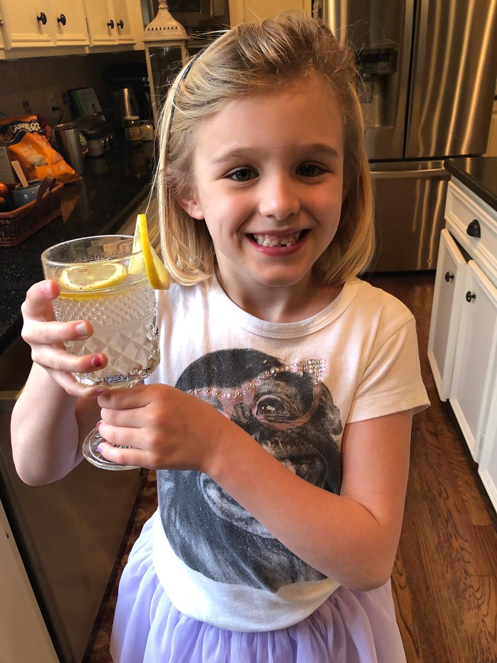 lavender lemonade student