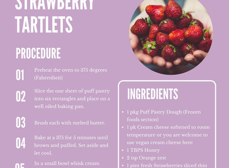 Strawberry Thankfulness Tart
