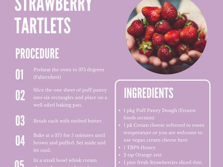Strawberry Thankfulness Tart