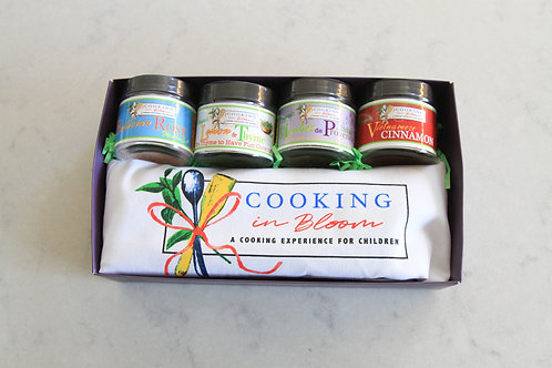 Exclusive Cooking in Bloom Spice Sets