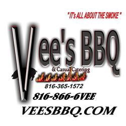 Vee's BBQ Logo