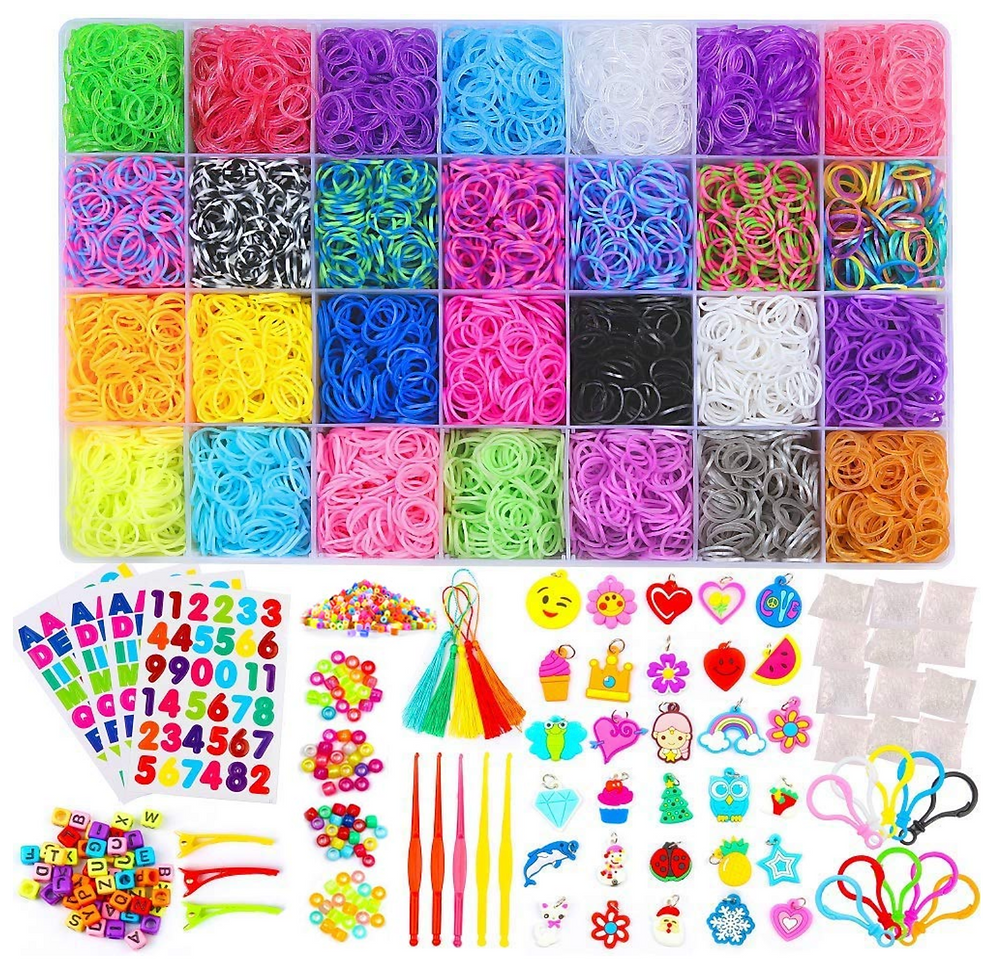 Rainbow loom kit with lots of fun for kids