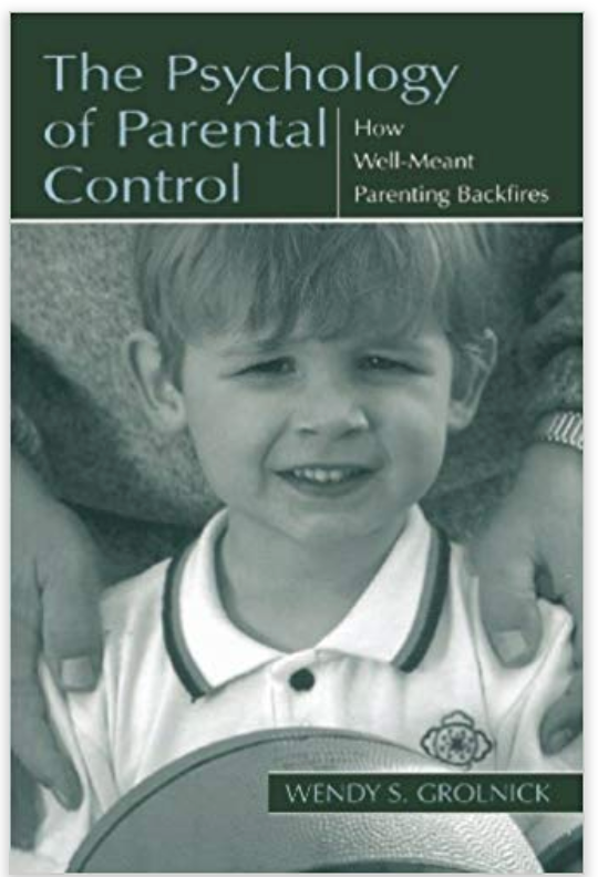 The book discusses the effects of parental control on protecting children's lives while still supporting their autonomy.