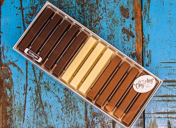 Pralinen Schokoladenstengel assortiert (13 Stk.)