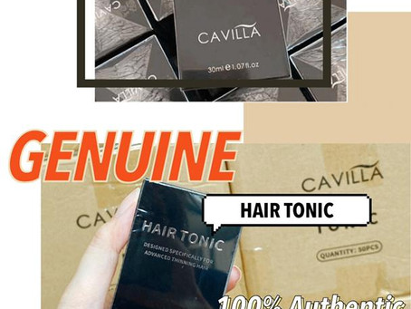 How to differentiate Authentic and Fake CAVILLA? - Cavilla Hair Tonic -