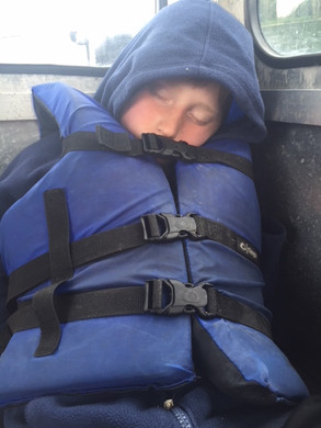 After a long day crabbing