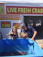 Live Crab!