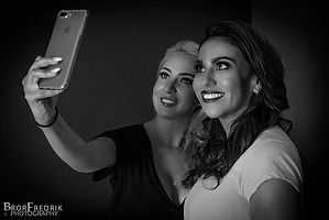 Client selfies 💋 I love my job but most