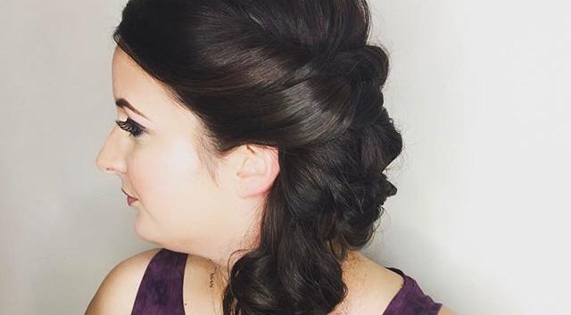 Bride Hair 👰🏻 by me 💋#hair #bride #la