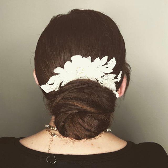 Basic Bun 💁🏼 Hair by me 💋 #hair #lasv