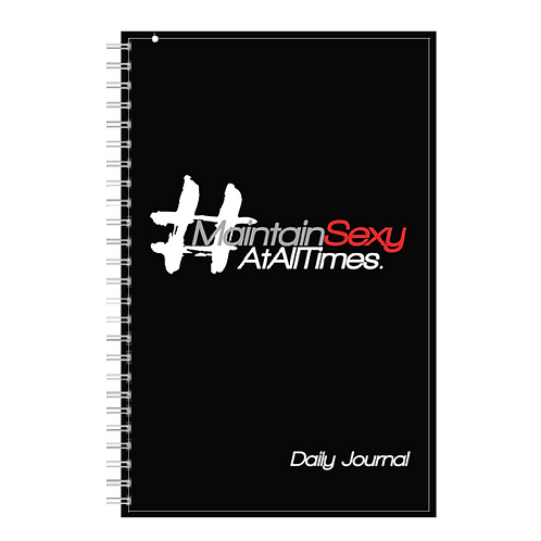 Maintain Sexy Daily Journal