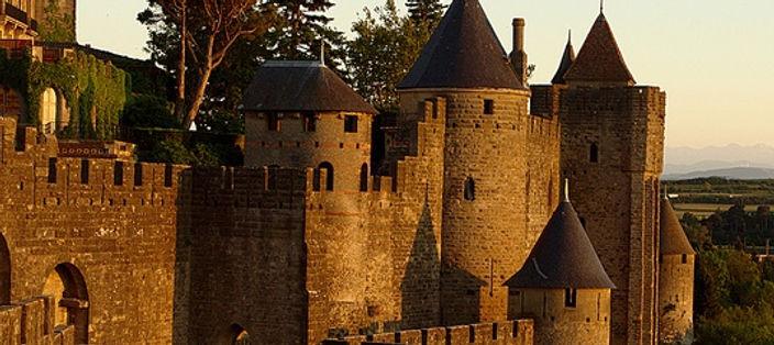 Средневековый город Каркассон, Лангедок-Руссильон