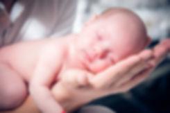 рождение младенца -начало жизни