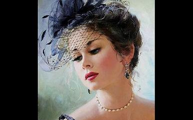 красивые женщины Художника Константина Разумова