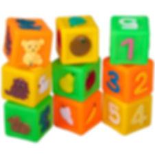 цветные кубики для развития ребенка