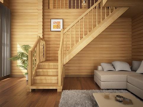 лестница вписалась в интерьер.jpg