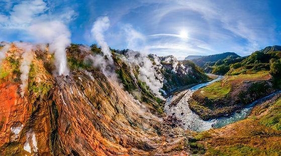 Долина гейзеров на острове Камчатка. 1.j