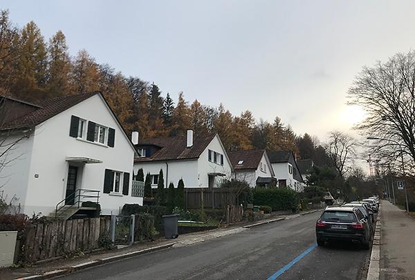 тихие улочки Цюриха