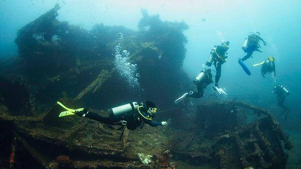 экскурсия на затонувший корабль USAT Lib