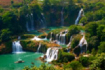 Водопад Ban Gion - Detian ( Вьетнам - Китай ).jpg
